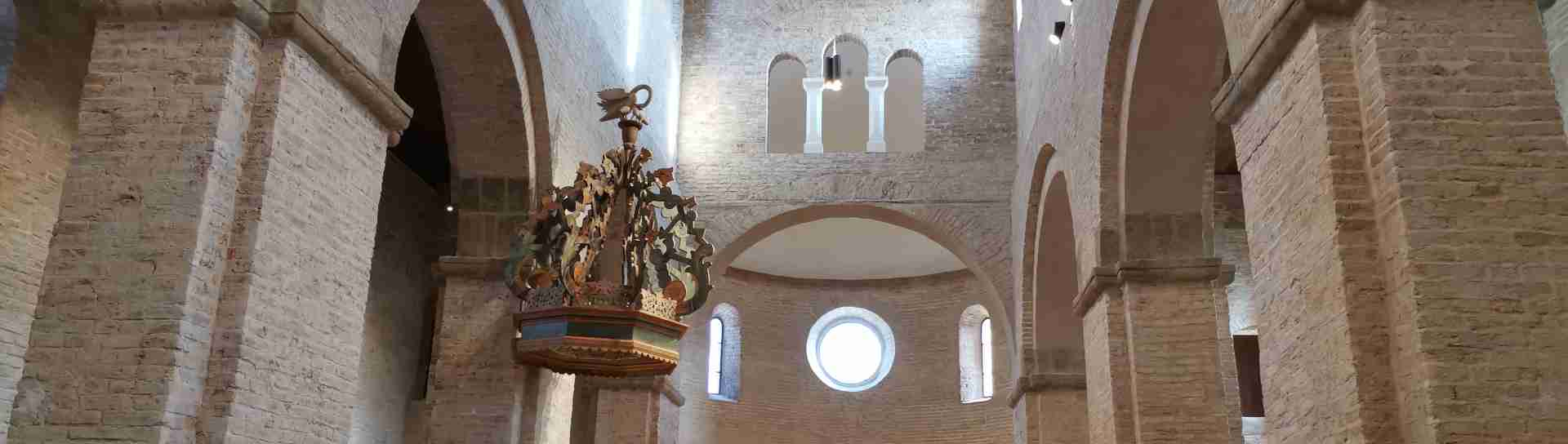Templom belső kép